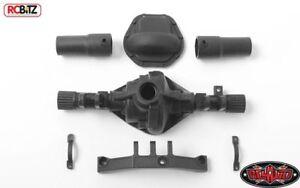 Pièces de rechange d'essieu arrière en plastique D44 Lockout Diff Cover Case Rc4wd Z-a0120 639302586303