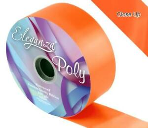50mm x 93m White Poly Ribbon Roll