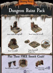 NEW-Dwarven-Forge-Caverns-Deep-Dungeon-Ruins-Pack-Add-On-D-amp-D-Tiles-Kickstarter
