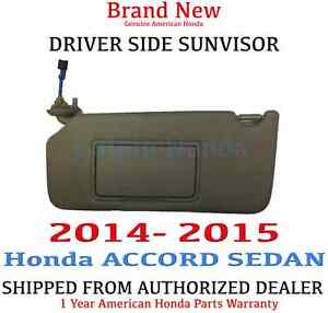 Image is loading 2014-2015-Honda-ACCORD-SEDAN-Driver-Side-Sunvisor- 36393118761