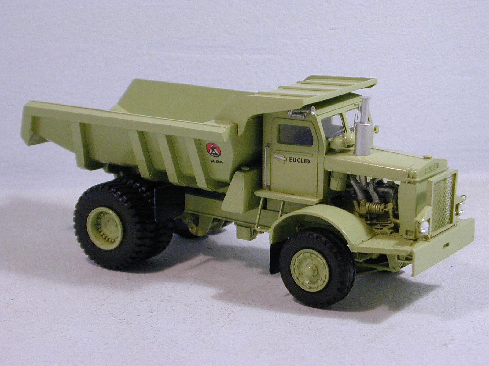 1 50 Euclid R-24 Quarry Dump Body - High quality RESIN KIT by Dan Models