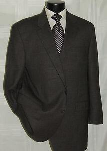 Gray-check-2-button-center-vent-Lauren-Ralph-Lauren-men-039-s-coat-jacket-46-L