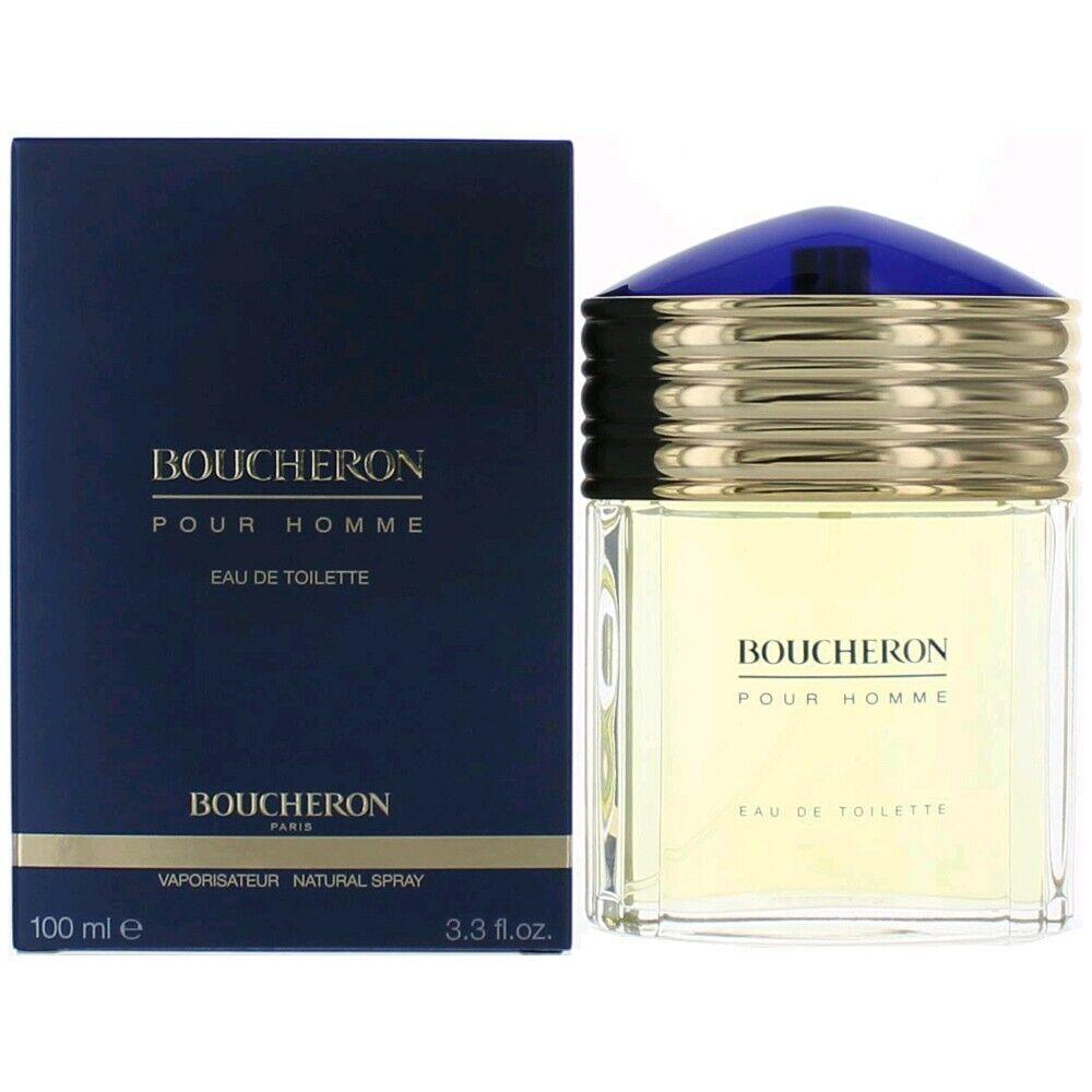 Boucheron Perfume Cologne BOUCHERON 3.4 oz 100 ml EDT Eau de Toilette Spray Men