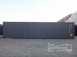 NEW 40 ft High Cube Double Door Shipping Container Saskatoon Saskatchewan Preview
