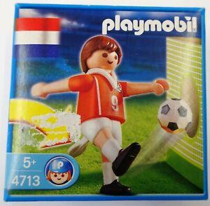 Playmobil-4713-Fussballspieler-Niederlande-NEU-NEW-OVP