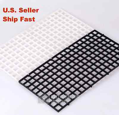 Aquarium Egg Crate Drip Tray Cover Holding Net For Sump Wet Dry Filter Any Size