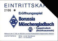 Ticket 17.07.1985 Achertalauswahl - Borussia Mönchengladbach in Kappelrodeck