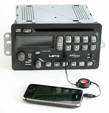 Pontiac Grand Am Sunfire 2004-05 Monsoon Radio AM FM mp3 CD w Aux Input 22724376