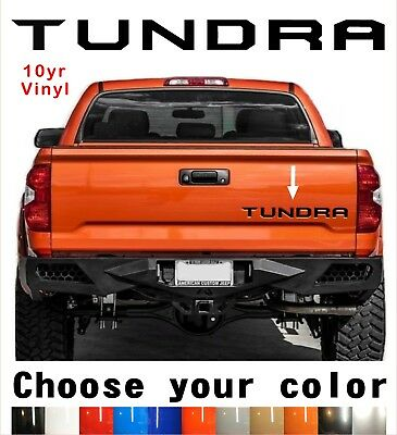 American Flag Tailgate Insert Letters Compatible for Tundra 2014 2015 2016 2017 2018 2019 2020 3D Raised /& Strong Adhesive Decals Letters Tailgate Emblems Inserts Letters