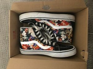 Details about Vans SK8-Hi REISSUE cuban floral black/true 7.5 mens 9.0 uk  6.5 our 40 cm 25.5