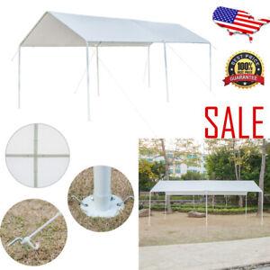 10 X 20 Portable Steel Frame Garage Carport Car Shelter ...
