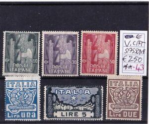 30-43-FRANCOBOLLI-del-REGNO-D-039-ITALIA