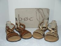 Boc Born Concept Candee Sandals Dark Brown And Champagne 6m, 7m, 9m 10m, 11m