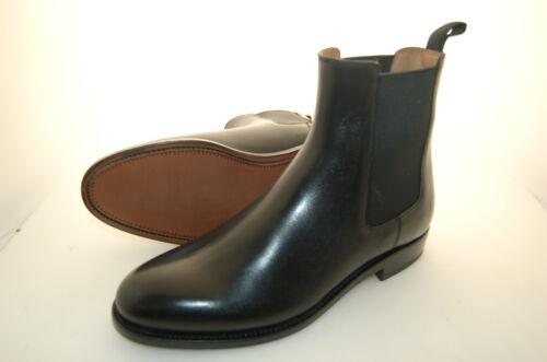 Leather Sole Nero 40½ Chelsea Boot Man 6½eu Vitello Calf Black z8BqqA06w