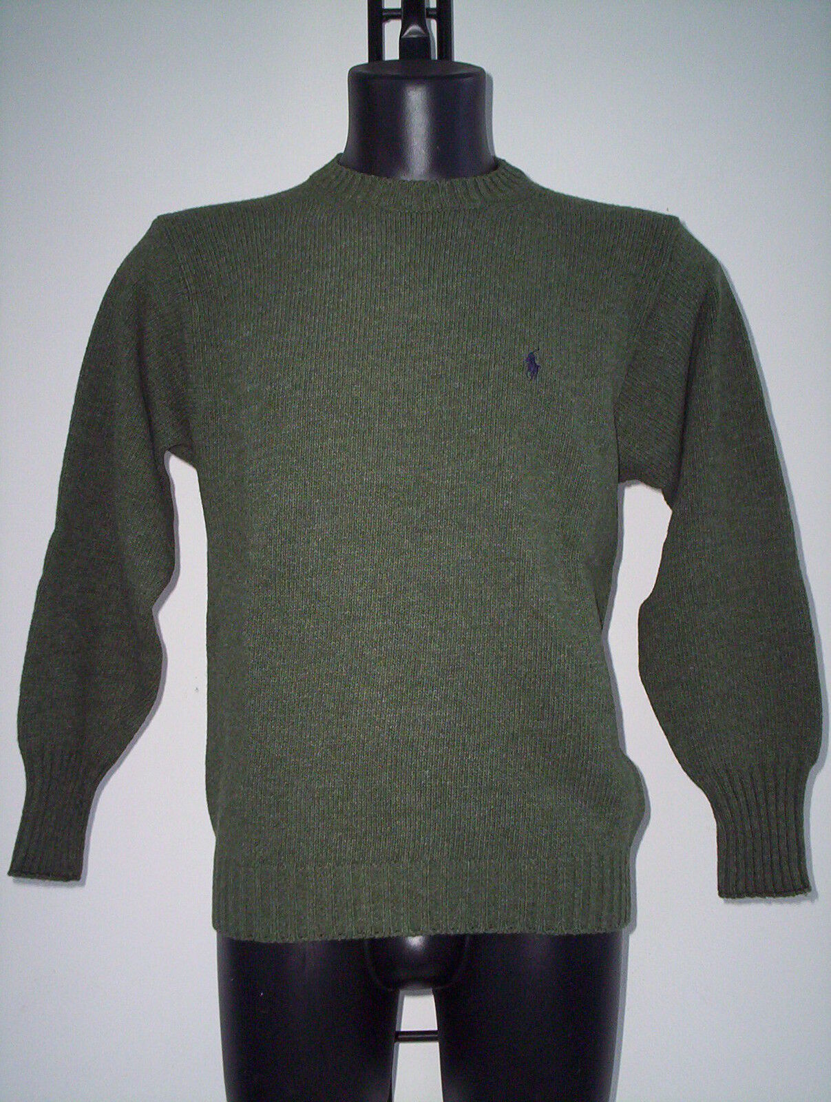 Sweater Ralph Lauren Green redten, SIZE S