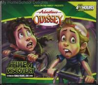 Adventures In Odyssey 18 A Time Of Discovery 4 Cd Focus On The Family Audio