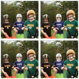 Details about Youth Helmet Jersey Set Franklin Sports NFL Replica Ages 5-9 American Football
