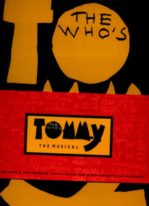 Details about THE WHOS : TOMMY - THE MUSICAL LIBRETTO- 1993 - w/CD PETER  TOWNSHEND, ROGER DAL