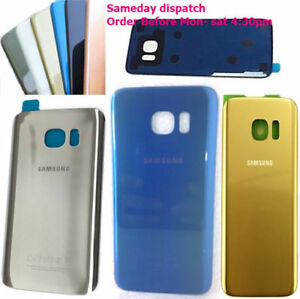 Samsung-Galaxy-S7-Edge-G935F-G935-Rear-Glass-Battery-Back-Cover-OEM-adhesive