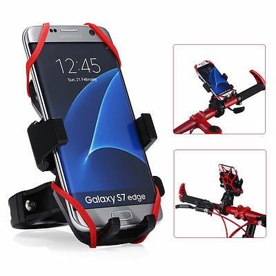 Mount Motorcycle Bicycle Bike Handlebar Holder Universal For Phone GPS iPhone