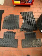 hinten schwarz Original Audi Q5 8R Gummimatten Gummifußmatten Set vorn