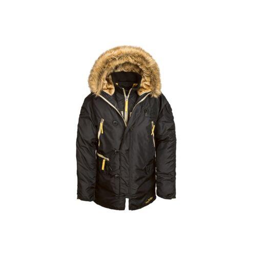 Parka Inclement 3b clima para Alpha Industries Nylon frío N Mjn44512c1 abrigo nqpxRxI5W