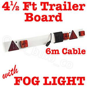 4-5-ft-TRAILER-LIGHTING-BOARD-rear-lamps-with-FOG-LIGHT