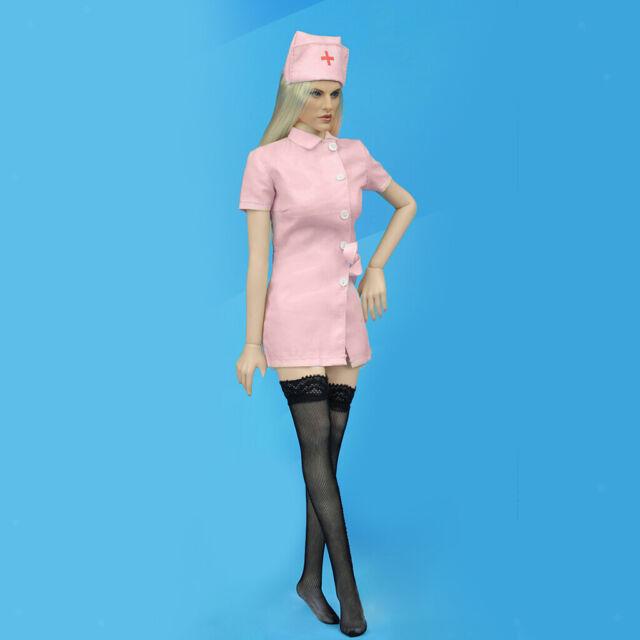 Rosa IPOTCH 1//6 Skala Weibliche Krankenschwester Uniform Frauen Kleidung f/ür 12 Zoll Action-Figuren