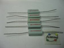 5x17,5mm R 10pcs knpa 3w-27r Resistance Wire High Voltage THT 27 Ohm 3w ± 5/% ø6