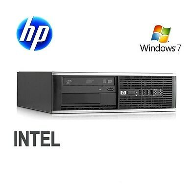 HP Elite 8000 SFF Intel Core2Duo E8400 3.0GHz# 8 GB DDR3 # 320GB HDD # DVD-Drive