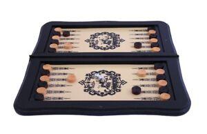 Backgammon-Brettspiel-Familienspiel-Strategiespiel-Geschenk-Idee-Reisespiel