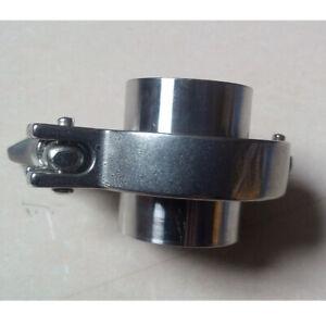"PTFE Gasket Tri Clamp 2 Pcs 57MM 2-1//4/"" OD SS316 Sanitary Pipe Weld Ferrule"