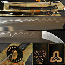 Battle Ready Kill Bill Japanese Sword Clay Tempered Full Tang Blade KATANA Sharp