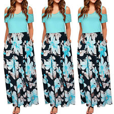 97d0a1749b6a3 item 3 Women's Cold Shoulder Floral Print Elegant Short Sleeve Long Maxi  Dress Sundress -Women's Cold Shoulder Floral Print Elegant Short Sleeve Long  Maxi ...