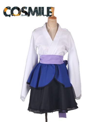 Naruto Uchiha Sasuke Female Version Japanese Lolita Cosplay Costume Prop Top Sa