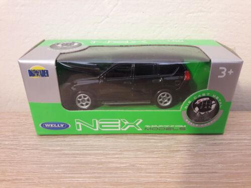 52285-1:64 1//64 1:60 1//60 Welly NEX Toyota Land Cruiser Prado No Black
