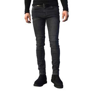 Jeans-De-Hombre-Chicos-Denim-Super-Stretch-Skinny-Jeans-Pantalones-De-Disenador-Pantalon-Ajustado
