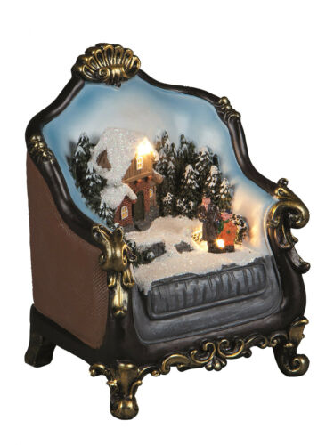 heine home Elegante Kugelvase mit handgeschliffenem Muster 15x15x12 cm