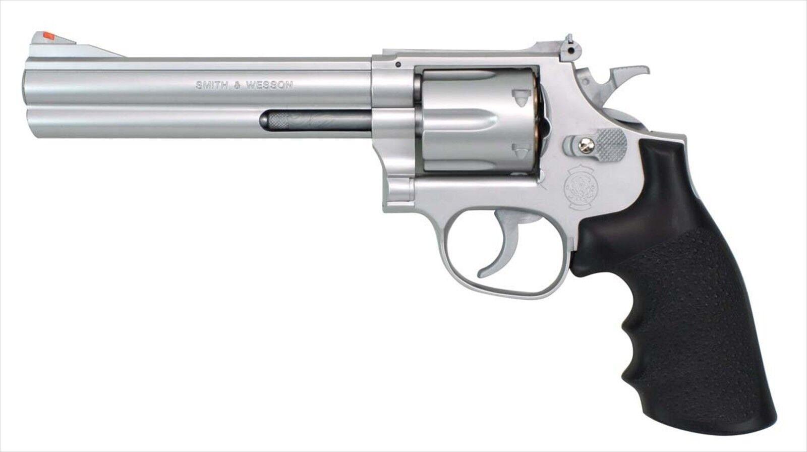 barato S&W M686 357 Magnum 6 in (approx. 15.24 cm) Plata Plata Plata Hop Up pistola de aire No7 Corona Modelo Japan F S  Venta en línea precio bajo descuento
