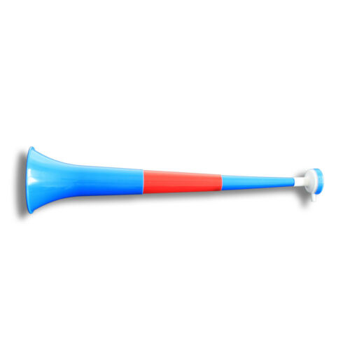 Vuvuzela Horn Fan Trompete Fussball 55 cm lang 4teilig Costa Rica
