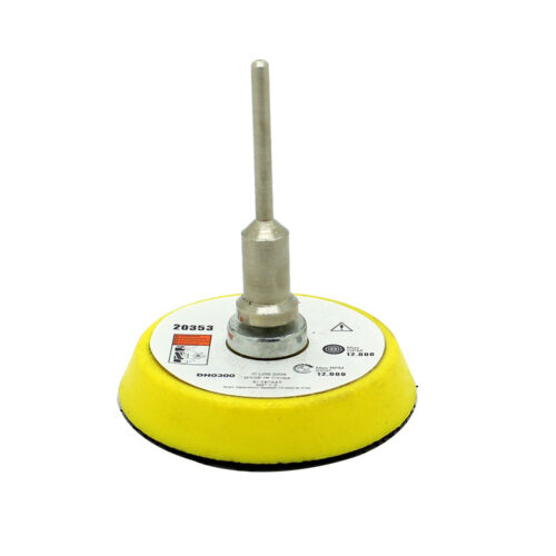 2inch Sander Disc Sanding Polish Backer Hook Loop Plate 3mm Shank FiODUS
