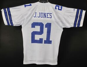 huge selection of 76cbf 2fac4 Details about Dallas Cowboys Julius J Jones #21 Football Jersey Mens M  Reebok