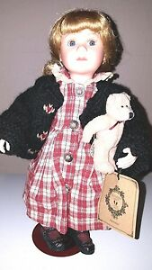 1999 Boyd's Bear The Yesterday Child Doll Collection Brittany