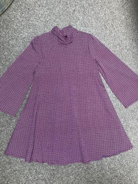 Little Bird Geo Print Retro Swing Dress Xmas 3-4 BNWT Jools Oliver