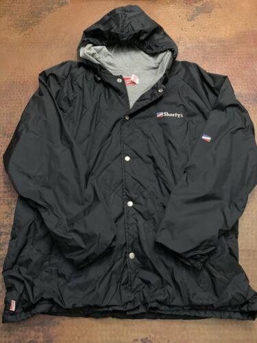 Shortys Skateboard Jacket Windbreaker (black, extr