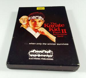 Karate-Kid-Part-II-Commodore-Amiga-Spiel-Big-Box-OVP-VGC-CIB-Sammlerzustand