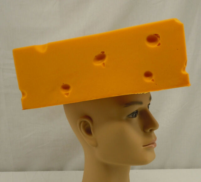 11248d76 Foamation Green Bay Packers Cheese Head Cheesehead Hat Medium Size