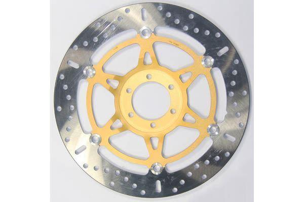 compatible avec Yamaha XJR 1200 95>98 EBC LH Avant Original Disque de frein