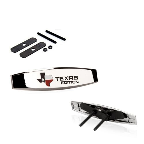 1 OEM Grille map TEXAS Edition Emblem TRUNK Decal leaf for Ford JEEP Cherok LU