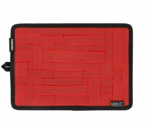 Cocoon-CPG8-GRID-IT-Laptop-Case-Bag-Organizer-for-iPod-iPhone-Electronics-Red